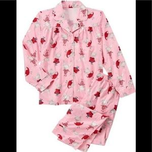 Gymboree Girls Olivia Pajamas Pjs Pink